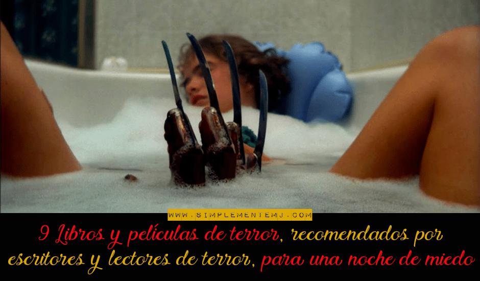 libros y películas de terror para una noche de miedo
