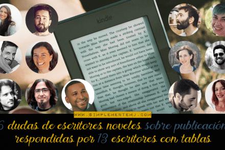 Dudas de escritores noveles sobre publicación
