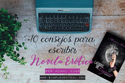 Consejos para escribir novela erótica