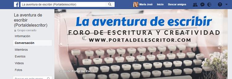 grupos de facebook para escritores