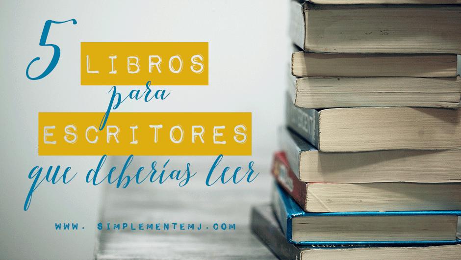 libros para escritores