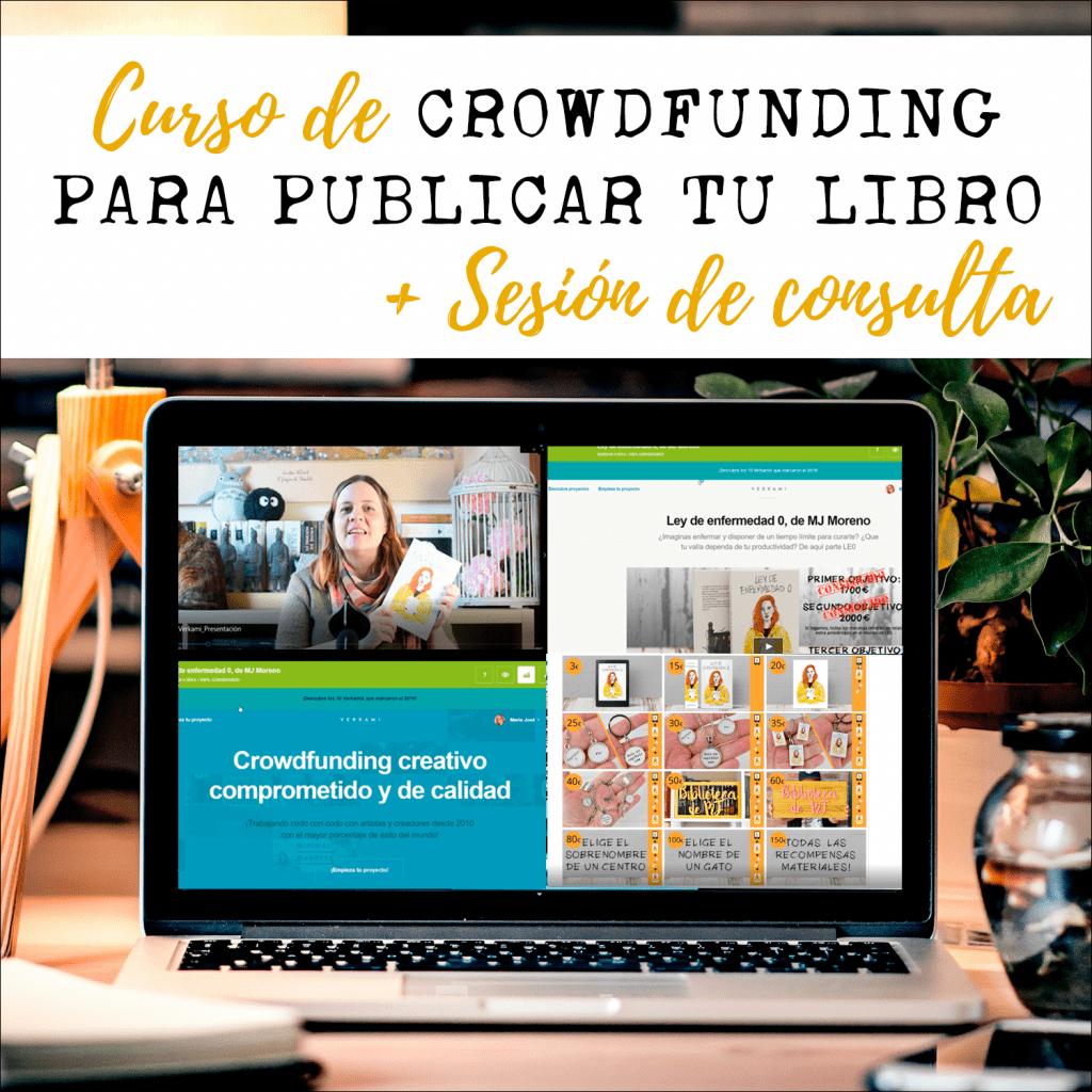 curso crowdfunding para publicar tu libro